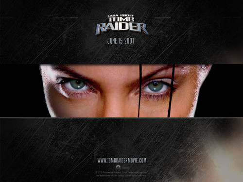 Lara Croft eyes
