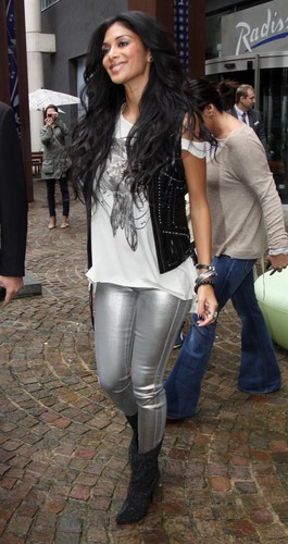 Leaving Liverpool's Radisson Hotel [16 July 2012]