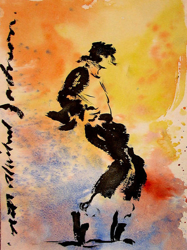 Michael Jackson Art door Nate Giorgio