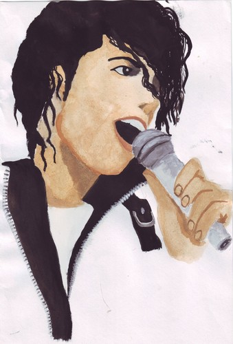 My Michael Jackson Painting