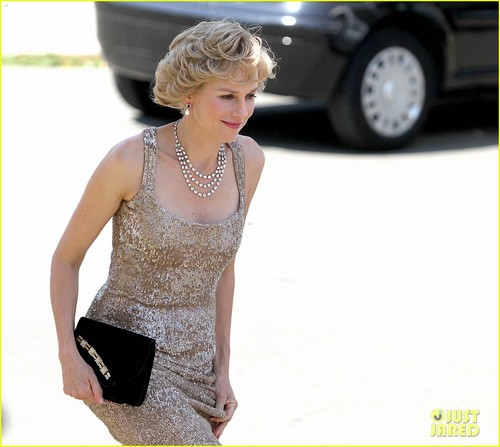 Naomi Watts as Princess Diana - First Look!