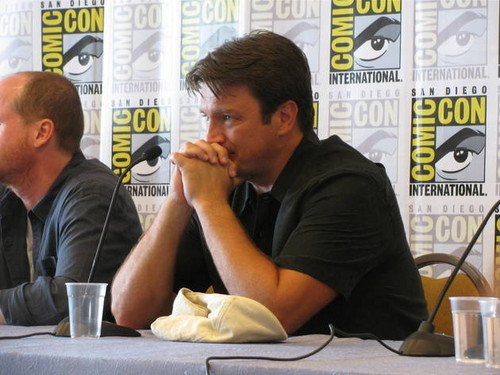Nathan Fillion at Comic-Con