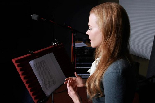 "Nicole recording ""To The Lighthouse"" audiobook by Virgina Woolf"