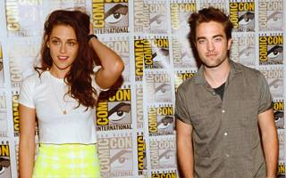 Robert & Kristen at Comic-Con 2012