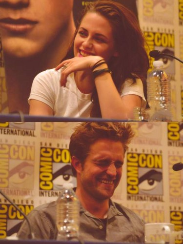 Robsten at Comic-Con 2012