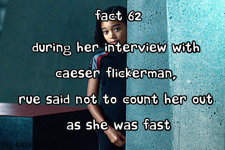 The Hunger Games facts 61-80