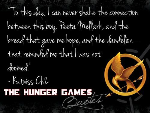 The Hunger Games 인용구 1-20