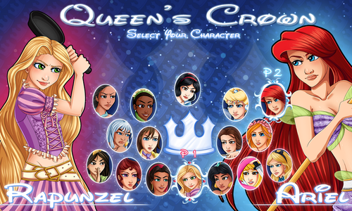 disney princess battle
