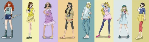 hipster Disney princesses 2