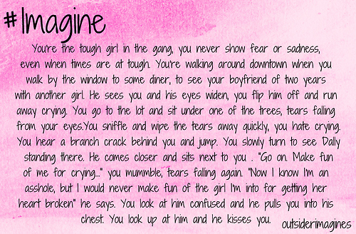 the outsiders imagine
