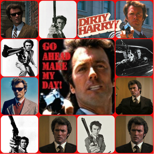 ☆ Clint Eastwood as Dirty Harry ☆