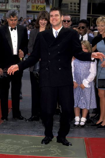 Jim Carrey Hand and Footprints Ceremony