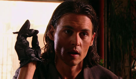 Depp in Once upon a time in Mexico