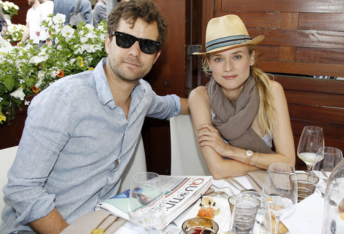 Diane - And Joshua Jackson Enjoy The French Open - May 31, 2012