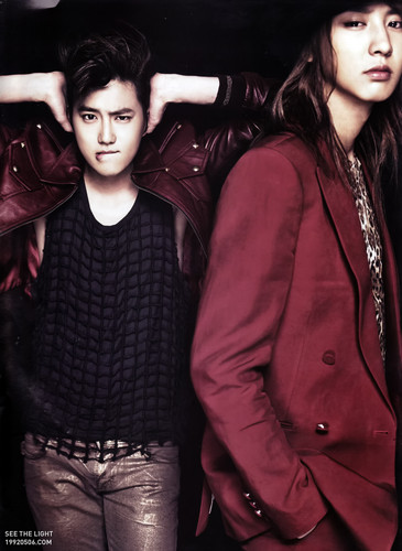 EXO-K for L'Officiel Hommes