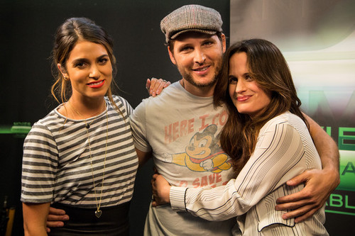 Elizabeth at Comic Con 2012 - films on Demand Lounge {12/07/12}