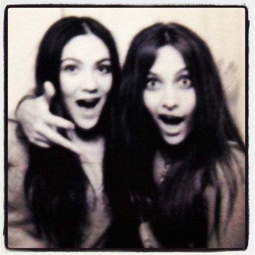 Isabelle Fuhrman and Paris Jackson