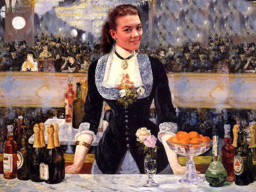 JUSTINE WADDELL - MANET MASTERPIECE REVISITED