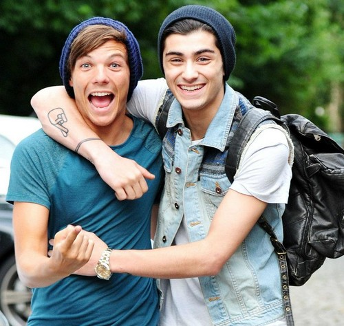 Louis and Zayn (Zouis)