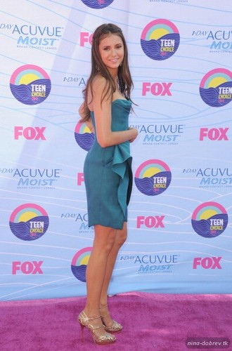 Nina at Teen Choice Awards 2012