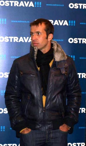 Radek Stepanek in winter