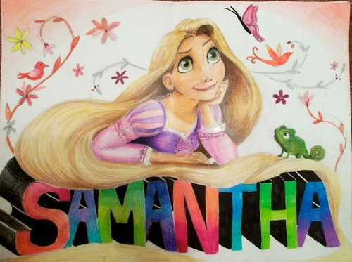 Rapunzel for Samantha