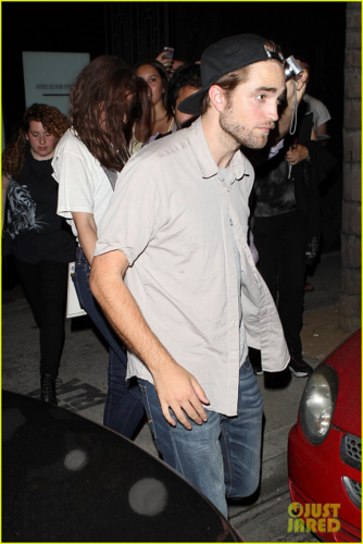 Robert - Spending the evening at The Hotel Cafe - July 19, 2012