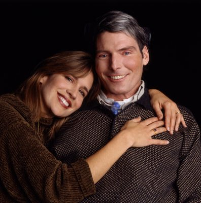 dana reeve & christopher reeve