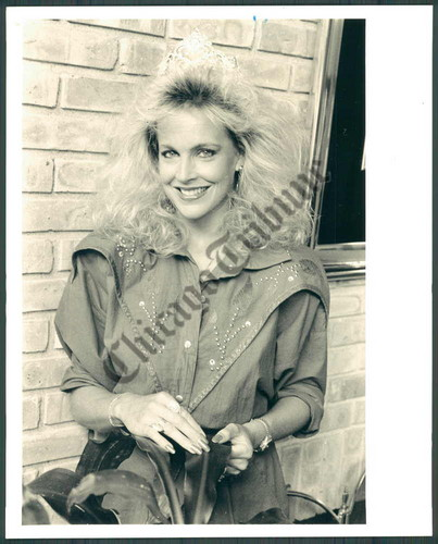 A young Debra in 1987 ( late 80's hairdo's didn't flatter any woman lol)