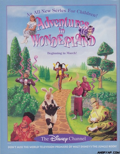 Adventures in Wonderland advertisment
