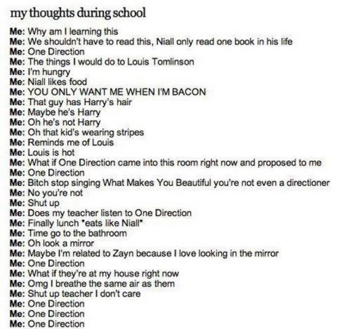 Directioners thoughts
