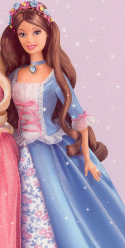 Erika from barbie as the Princess and the Pauper
