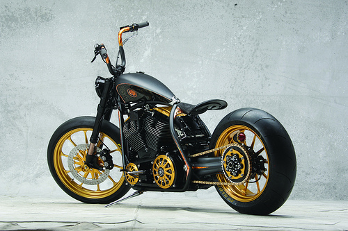 "HARLEY DAVIDSON - ""The Black Beauty"""