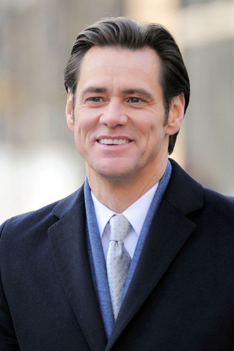 "Jim Carrey On Set Of ""Mr. Popper's Penguins"""