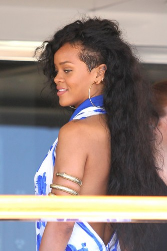Leaving Her Yacht In Nice, France [29 July 2012]