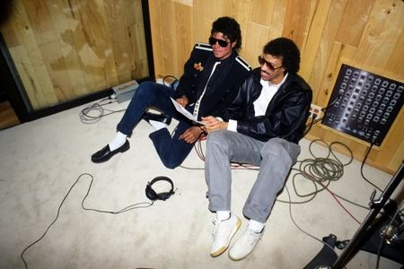 Michael And Lionel Richie