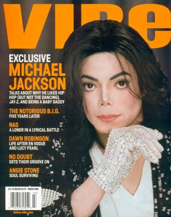Michael On The Cover Of VIBE Magazine