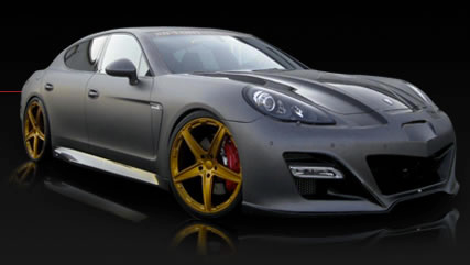 No-Limit-Custom Porsche Panamera Turbo Tuning alias GP-970