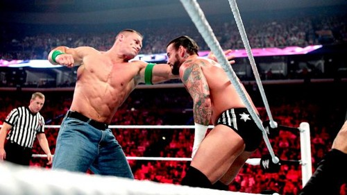Punk vs Cena (Chmapionship match)