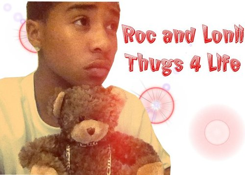 Roc and his teddy