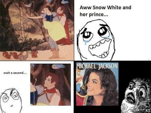 Snow white and her prince........ MICHAEL JACKSON???!!!!! o_O