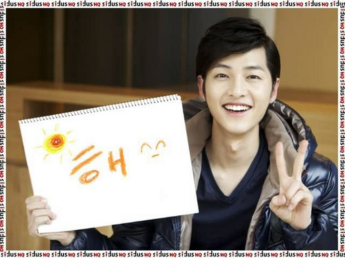 SongJoong ki new taon message