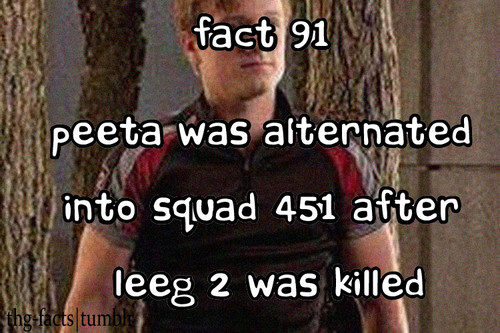 The Hunger Games facts 81-100