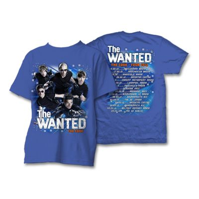 The Wanted the code tour t- camicia