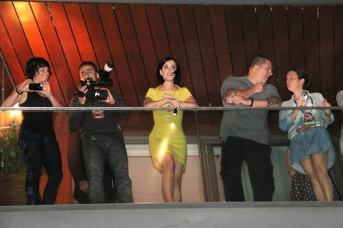 Upskirt On Her Hotel Balcony In Rio [30 July 2012]