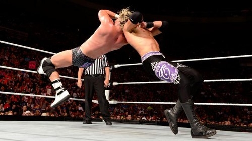 Y2J and Christian vs Miz and Ziggler