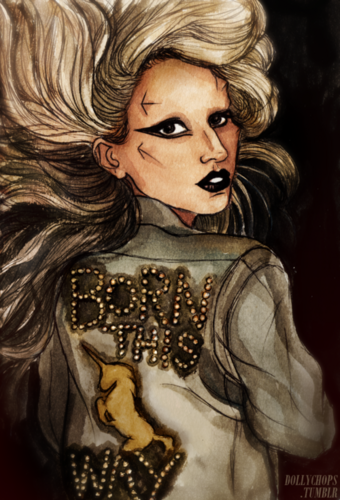 A M A Z I N G  GAGA DRAWINGS by HELEN GREEN