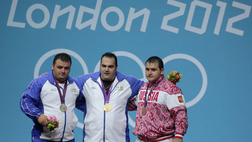 Behdad Salimi Leads Iran Gold in Weightlifting