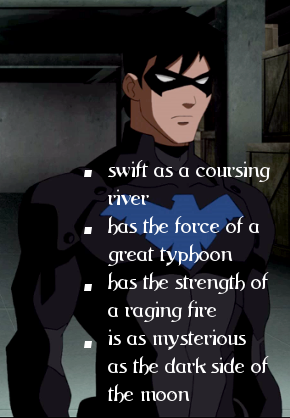 Describing Nightwing