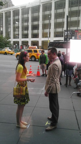 Ed leighton on set